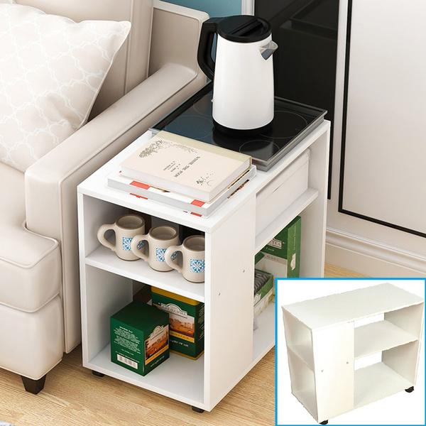 Mini, Storage, sidetable, tablestorageshelf