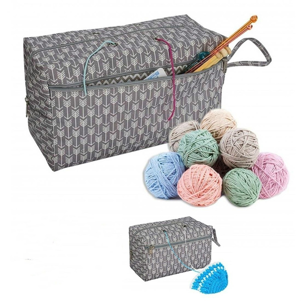 yarnorganizerbag, Knitting, yarnstoragecontainer, woolstoragebag