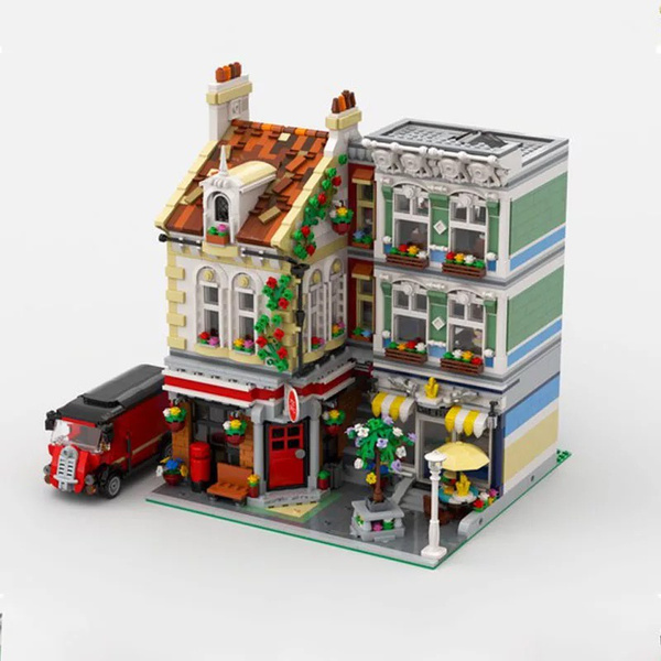 building, city, Toy, Office