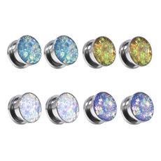Steel, piercingsandgauge, gaugesforear, Jewelry