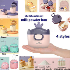 Box, babyitem, formuladispenser, portable