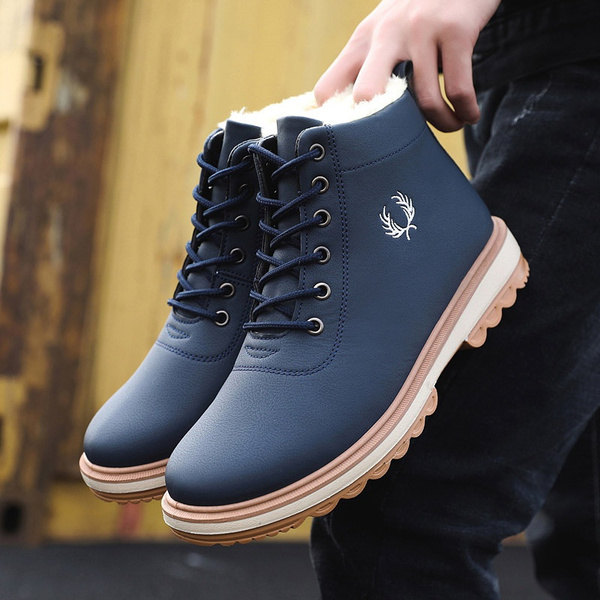 ankle boots, Mens Boots, Leather Boots, Winter