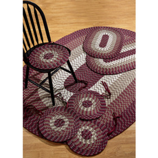 Indoor, reversible, Braids, area rug