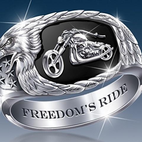 Men Jewelry, ringsformen, biker, eaglering