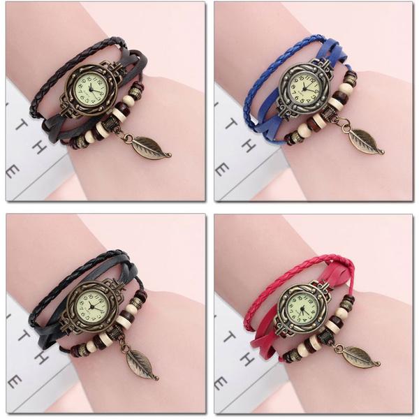 wristwatches, quartz, leaf, Christmas