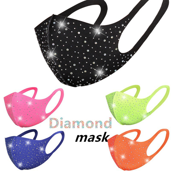 DIAMOND, Star, sequinmask, Colorful