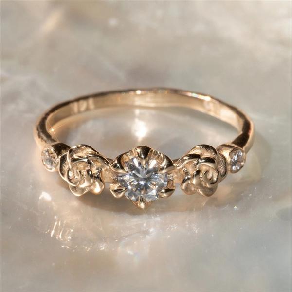 weddingengagementring, DIAMOND, gold, Engagement Ring