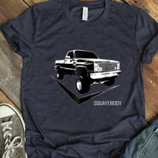 Body, Square, Cotton T Shirt, print t-shirt