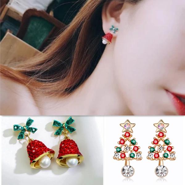 Jewelry, Bell, Tree, Earring