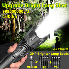 Flashlight, Batteries, Bright, Outdoor