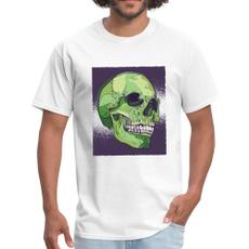 T Shirts, Men, Shirt, skull
