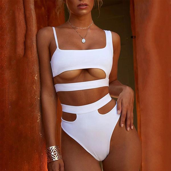 Summer, Plus Size, bikini set, twopiecebikini