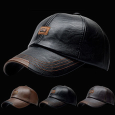 sports cap, leather cap, velvet, Invierno