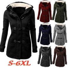 Hoodies, Plus Size, hooded, Winter