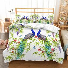 beddingkingsize, peacock, peacockbeddingset, beddingsetkingsize