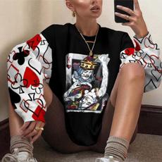 blouse, cartoon sweaters, Fashion, Necks