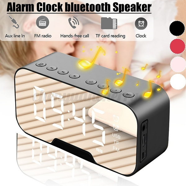 Wireless Speakers, Led Clock, Home & Living, bluetooth speaker