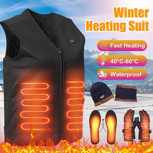 Jacket, Vest, heatedinsole, Winter