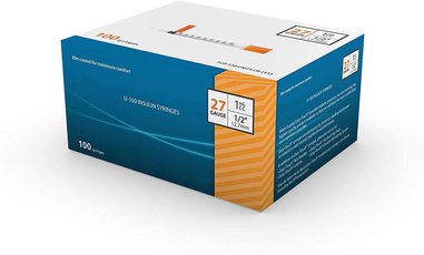 Box, ultrafineinsulinsyringe, disposableinsulinsyringe, disposablesterilesyringe