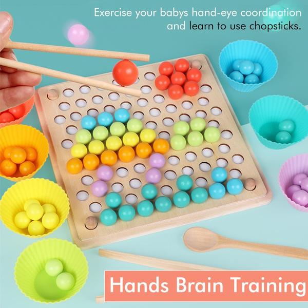 clipbeadsgame, Toy, montessoritoy, traininginteractiveclip