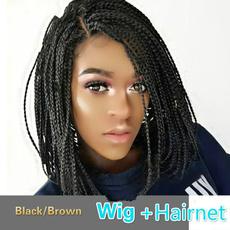 wig, Box, blackbraidedwig, africanamericanbraidedwig