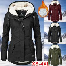 casual coat, Plus Size, velvet, Winter