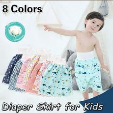 comfydiaper, kiddiaperskirtpant, Shorts, Waist