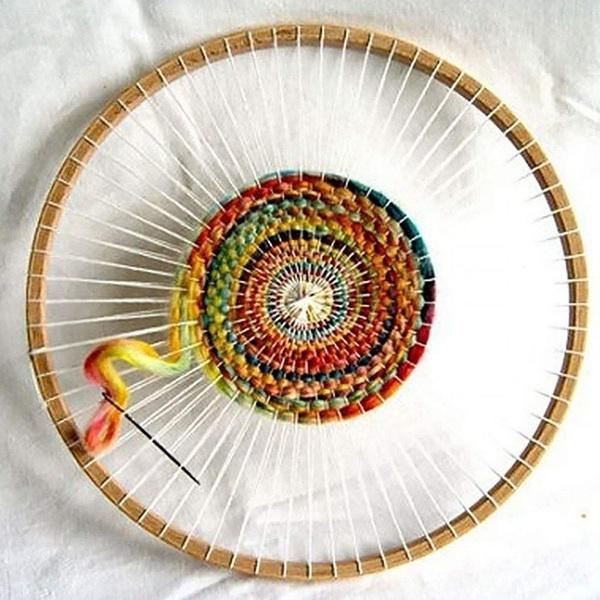 decoration, loom, Knitting, tear