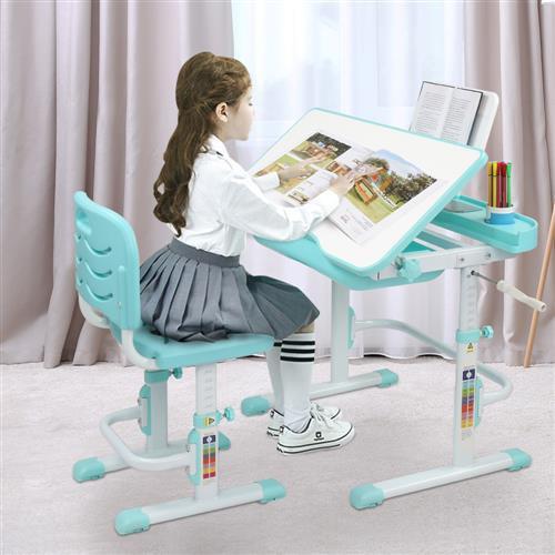 adjustablechildtable, studytable, Home & Living, tilt