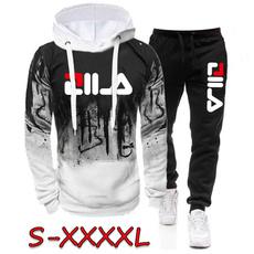 Fashion, Hoodies, 2pcsset, athleticset