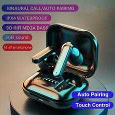 Ear Bud, Earphone, Waterproof, Bluetooth Headsets