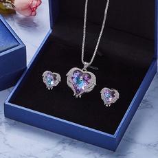 Blues, Heart, Necklaces Pendants, Jewelry