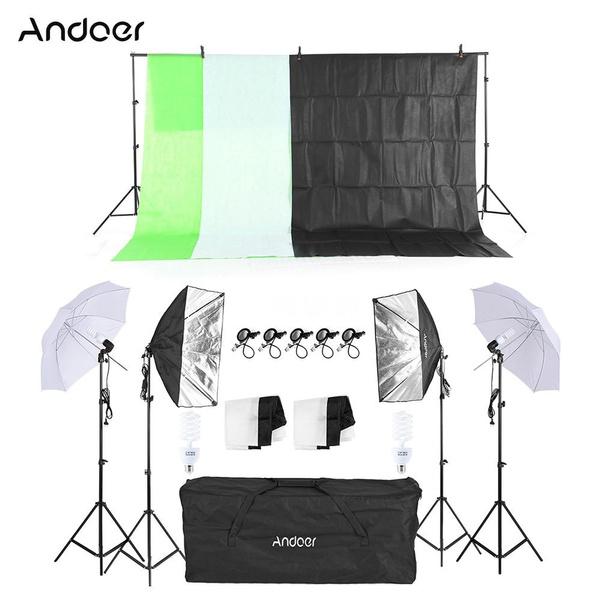 50x70cmsoftbox, swivel, Umbrella, Photo Studio