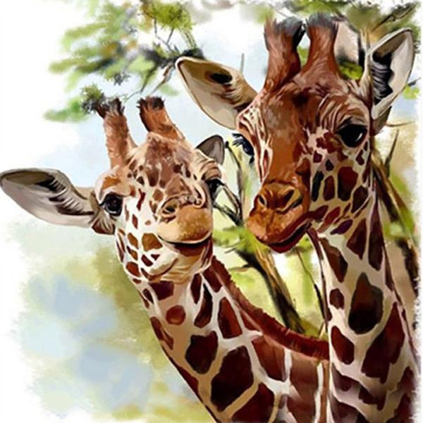 DIAMOND, giraffediamondpainting, Cross, giraffe
