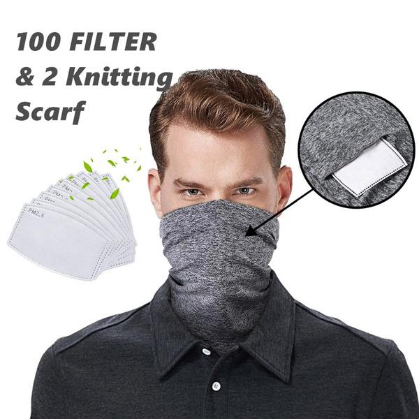 neckwarmerscarf, pm25filter, Fashion, Cycling