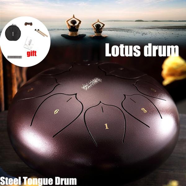 Steel, Yoga, lotusdrum, drumaccessorie