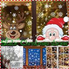 Home & Kitchen, windowsticker, christmasdecal, Colorful