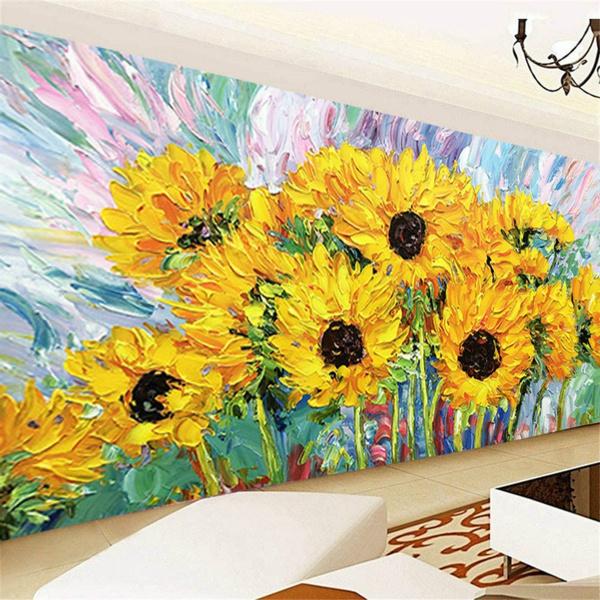 diamondart, Decor, Home Decor, Sunflowers