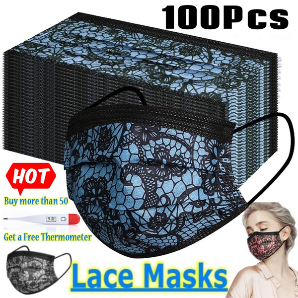 surgicalfacemask, Fashion, mouthmask, Lace