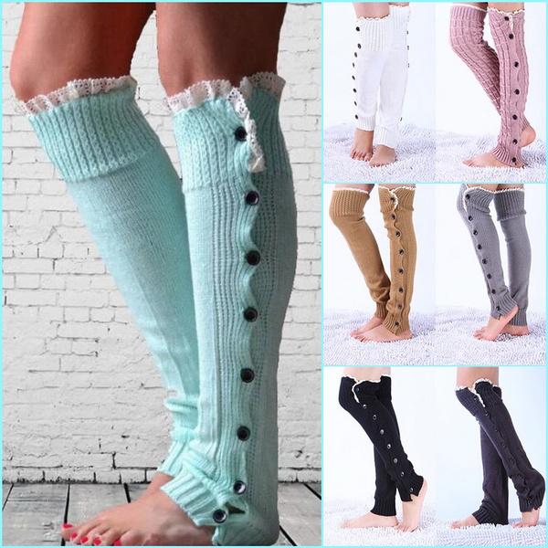 wintersock, Leggings, crochetknittedsock, lace trim