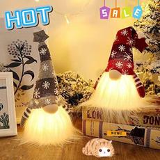 Home & Kitchen, Plush Doll, led, Christmas
