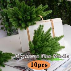 artificialpine, Plants, fakeleaf, christmaspineneedle