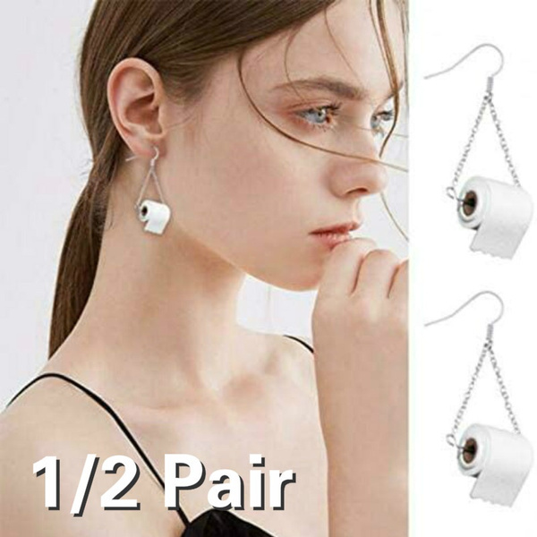 Funny, Dangle Earring, Jewelry, Gifts