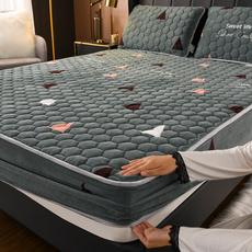 King, velvet, bedspread, mattressprotector