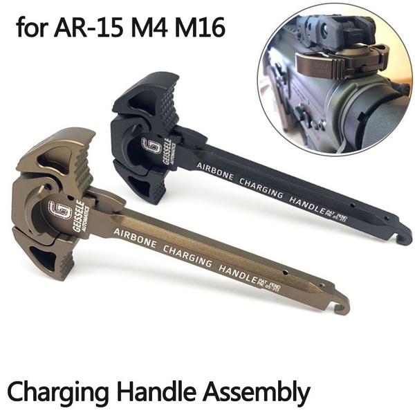 charginghandlear15, Aluminum, gun, Hunting Accessories