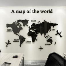 Home & Kitchen, Decor, Home Decor, worldmap