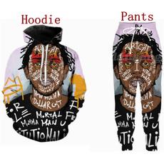 3D hoodies, hiphopsweatshirt, rapper, kendricklamar