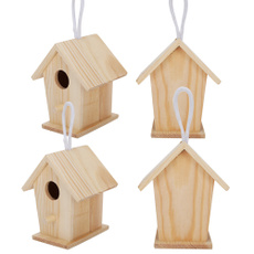 Home Decor, woodenbirdhouse, birdcage, Home