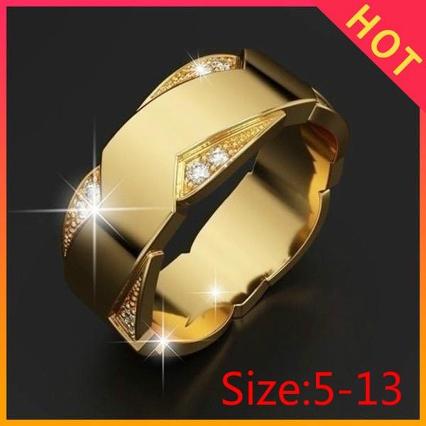 fingeraccessorie, DIAMOND, wedding ring, Mens Accessories