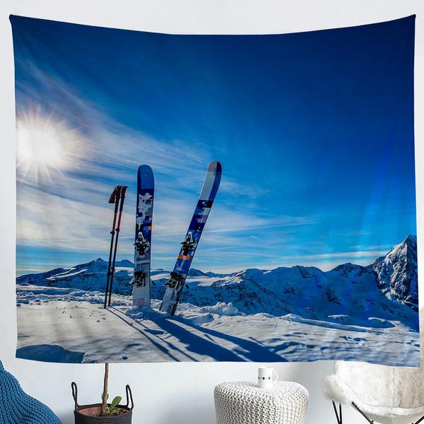 Mountain, Decor, Sport, Winter